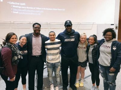 Members who presented and attended the Race, Sport and Activism Panel Discussion on 10/18/17